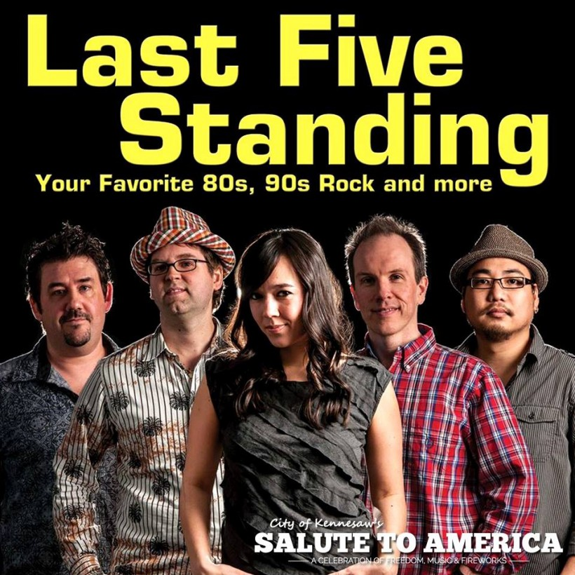 Last Five Standing Independence Day 2015