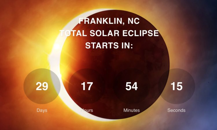 Solar Eclipse Party In Franklin, NC